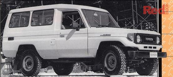 Toyota Landcruiser FJ75