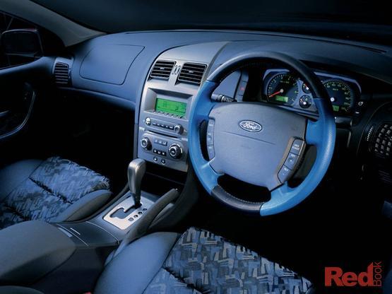 2003 Ford Falcon XL UTE Super CAB BA