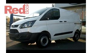 Ford Transit Custom 2014 Van_f1