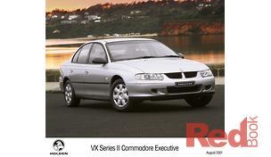 HOLDEN Commodore 2002 - VX II Executive, Sedan 4dr Man 5sp