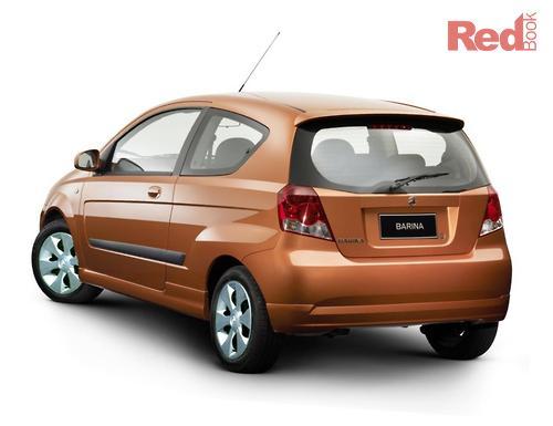 HOLDEN Barina 2005 - XC MY05, Hatchback 3dr Man 5sp 1 4i