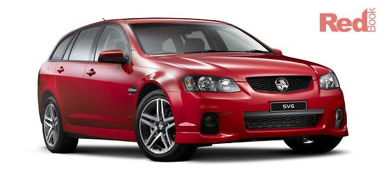 Holden Commodore SV6 VE Series II 2011