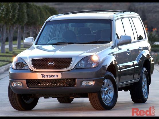 2006 Hyundai Terracan  HP MY06