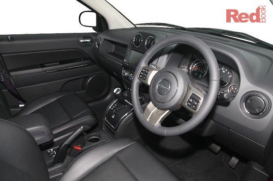2012 Jeep Compass Limited CVT Auto Stick MK MY12