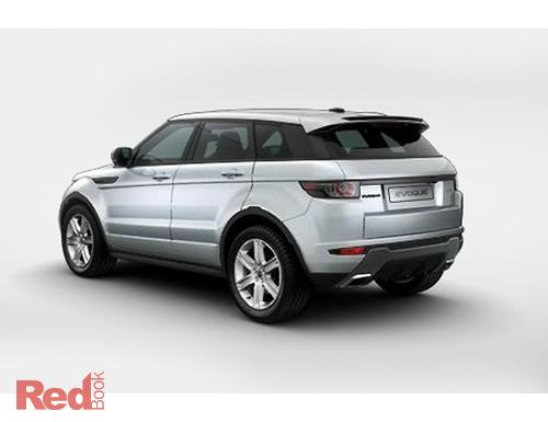 Evoque Dynamic 2011 Wagon Rear