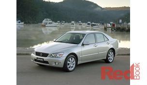 IS200 GXE10R MY02 Sedan Sports
