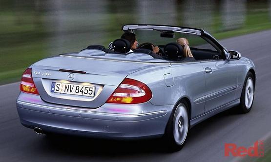 2004 Mercedes-Benz CLK320 Elegance A209