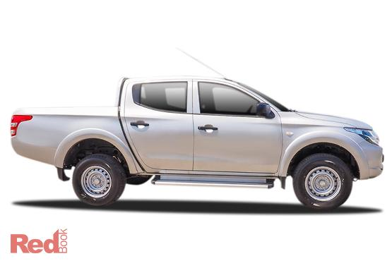 2017 Mitsubishi Triton GLX Double CAB MQ MY17