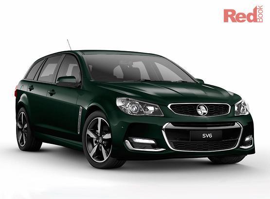 2017 Holden Commodore SV6 Sportwagon VF II MY17