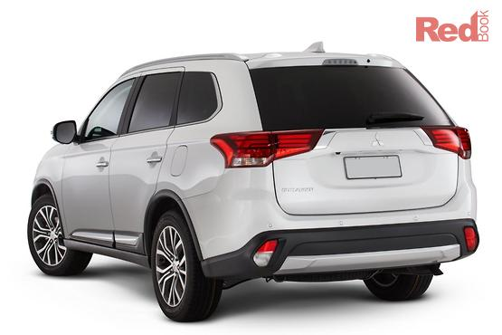 2017 Mitsubishi Outlander Exceed AWD ZK MY18