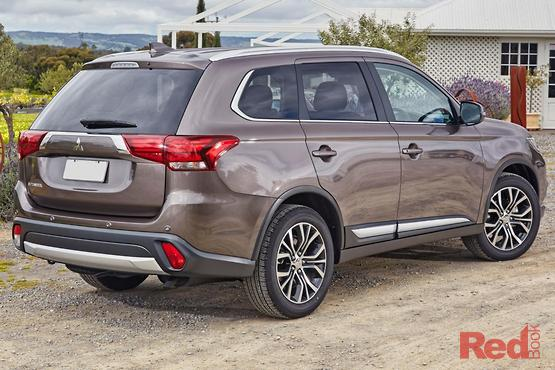 2017 Mitsubishi Outlander LS AWD Safety Pack ZK MY18