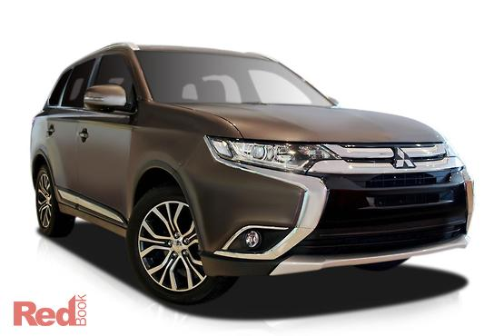 2017 Mitsubishi Outlander LS 2WD Safety Pack ZK MY17