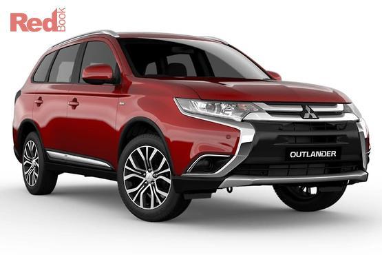 2017 Mitsubishi Outlander ES Adas 5 Seat (2WD) ZL MY18.5
