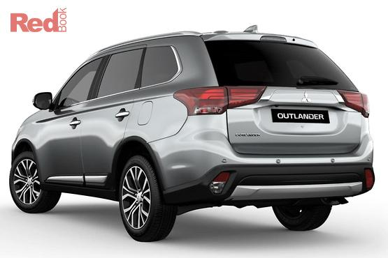 2017 Mitsubishi Outlander Exceed 7 Seat (awd) ZL MY18.5