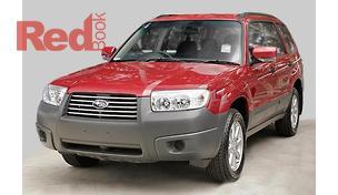 SUBARU Forester 2007 - 79V MY08 X Wagon 5dr Man 5sp AWD 2 5i