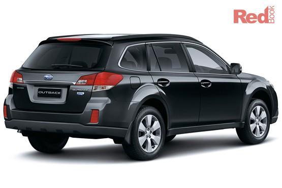 2012 Subaru Outback 2.0D AWD Premium B5A MY12