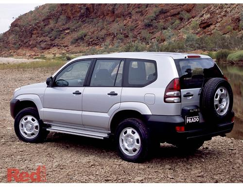 Landcruiser Prado Wagon GX