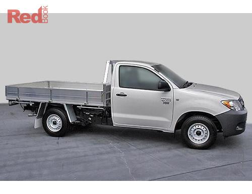 Hilux TGN16R MY07 Cab Chassis Workmate