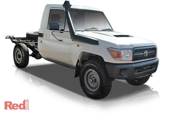 2010 Toyota Landcruiser VDJ79R MY10 Workmate Cab Chassis Single Cab 2dr Man 5sp 4x4 4.5DT