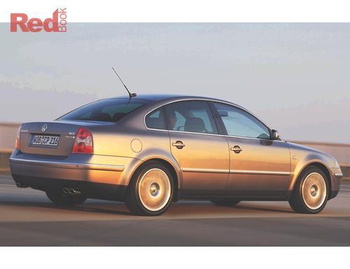 Passat GP MY2003 Sedan W8 4Motion