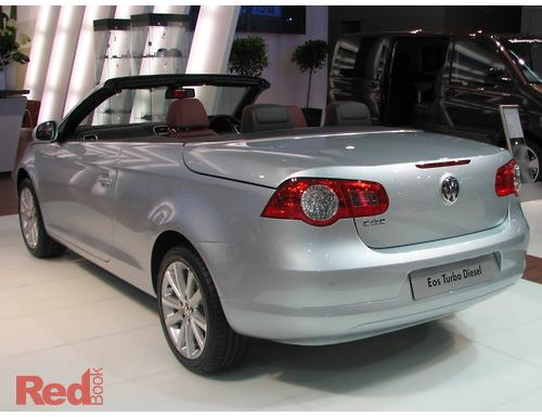 VOLKSWAGEN Eos F MY TDI Convertible Dr DSG Sp DT - Eos car show