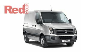 VW Crafter Van Front Side