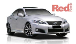 IS F USE20R Sedan Sports Luxury