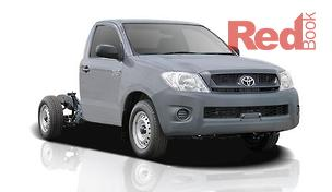 Hilux TGN16R Cab Chassis Workmate